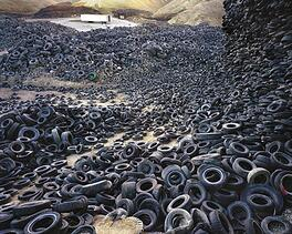 Tire Stockpile